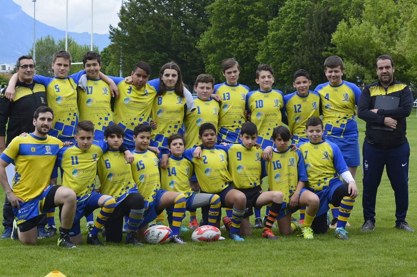 U14 Photo déquipe Mai 2019