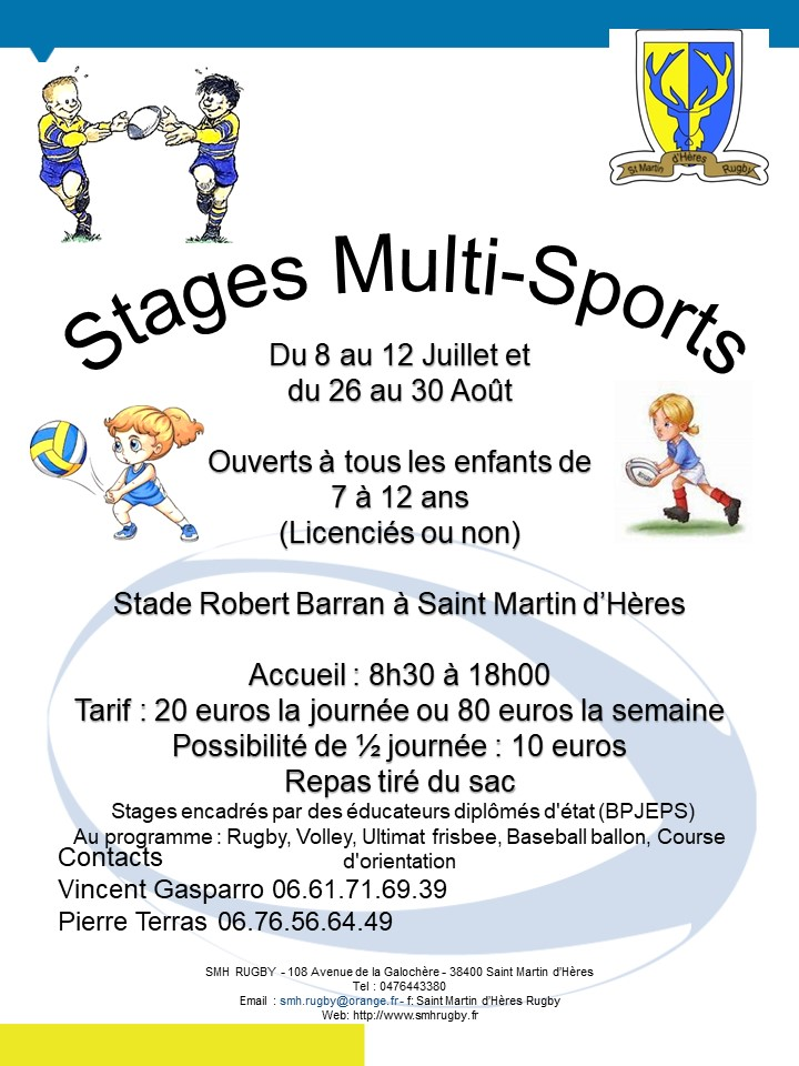 Stages MutliSports